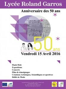 LRG 50ans - Affiche