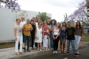 Anciens et nouveaux élèves et professeurs