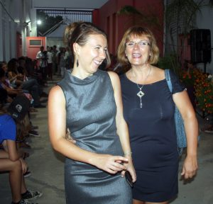Nathalie et Laurelyne