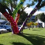 Anniversaire des 50 ans - Habillage des arbres