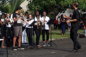 M. Alletto et les musiciens
