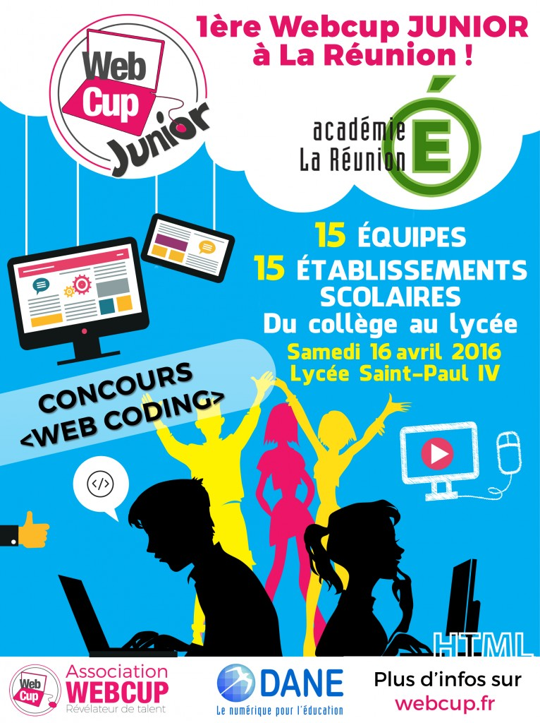 Affiche Webcup Junior 2016