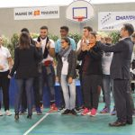 Remise de la coupe du Fair Play par Mme Le Maire