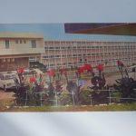 Exposition de photographies de la construction des bâtiments