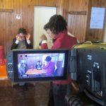 tournage au gîte du volcan