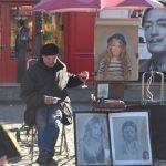 Peintre , Place du Tertre Butte Montmartre